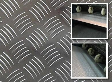 Aluminum Alloy Multi Bar Chequered Safety Flooring Tread Plates
