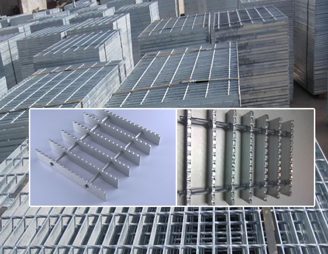 Architectural Aluminum Bar Grating Panels For Construction