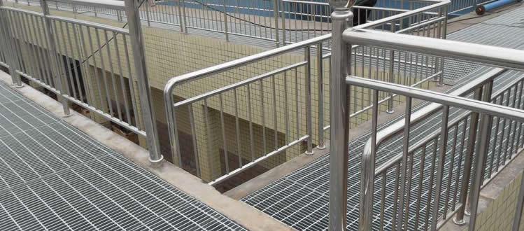 Bar Grating Structural Metal Steel Stair Treads Decking