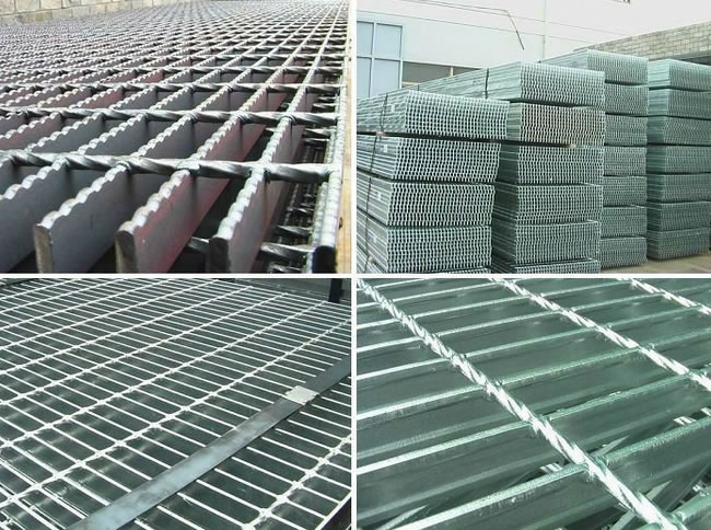 Metal Bar Gratings Aluminum Steel And Stainless Steel